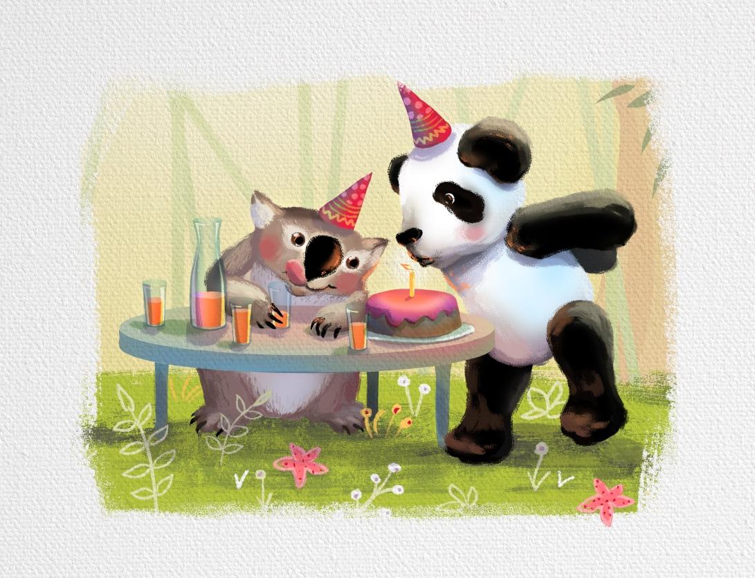 панда-вомбат